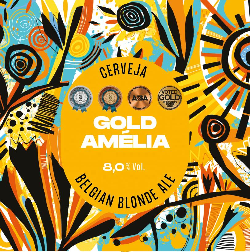 Gold Amélia